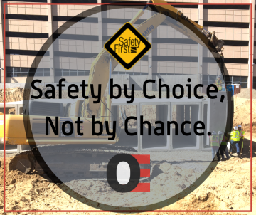Safety by choice, not by chance OE